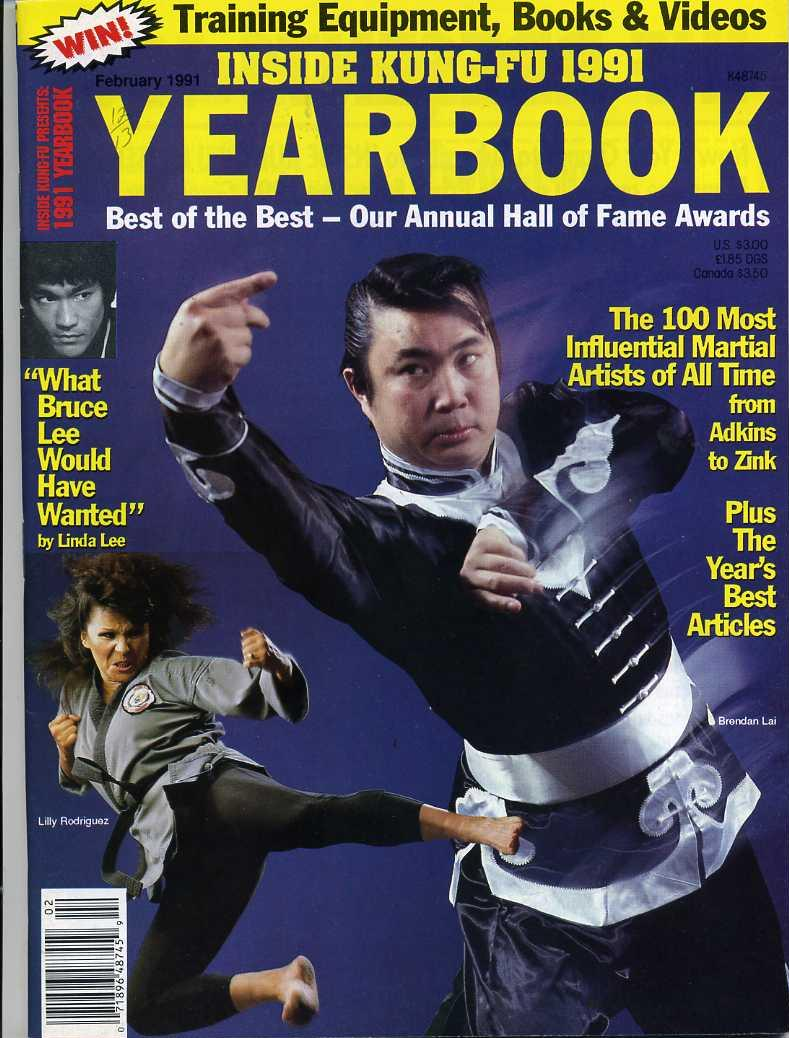02/91 Inside Kung Fu Yearbook